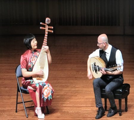 Issam Rafea And Gao Hong Duo