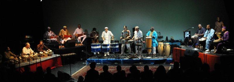 Spoken Hand Percussion Orchestra