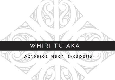 The WHIRI TŪ AKA Concept