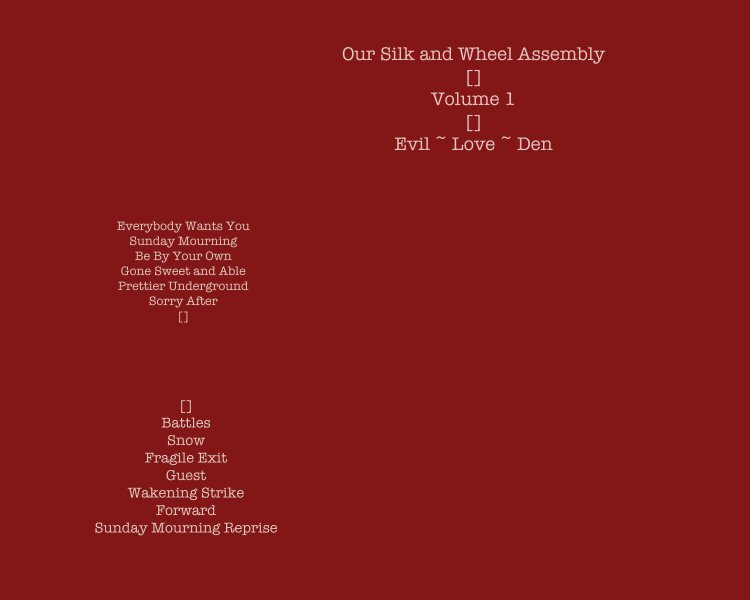 Our Silk And Wheel Assembly