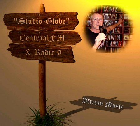 CentraalFm Studio-Globe