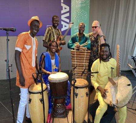 Sakari Kukko Afro Chamber Trio