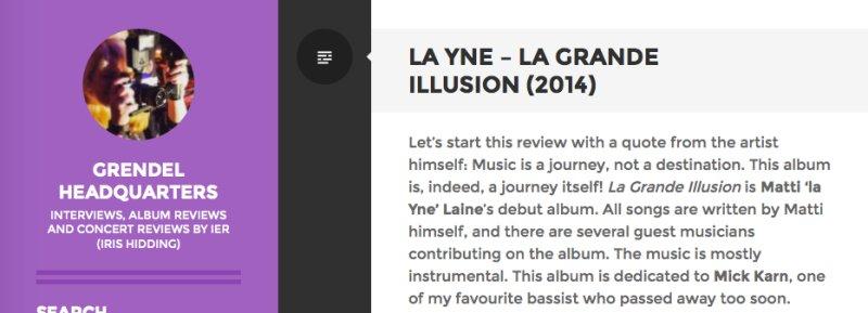 La YnE – La Grande Illusion (2014)