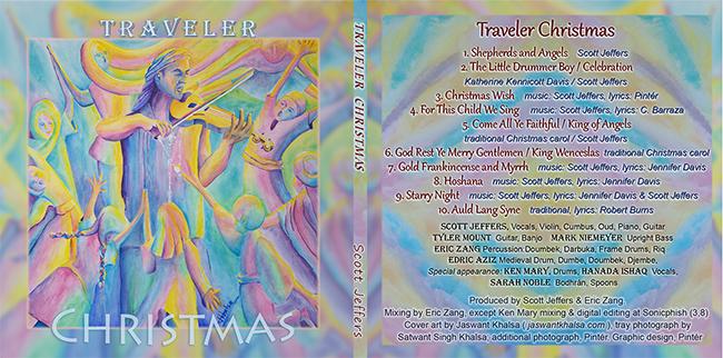 2014 CD release: Traveler Christmas