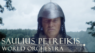 Saulius Petreikis World Orchestra video - Samogits Out now!