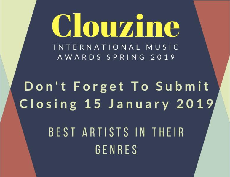 CLOUZINE INTERNATIONAL MUSIC AWARDS Spring 2019
