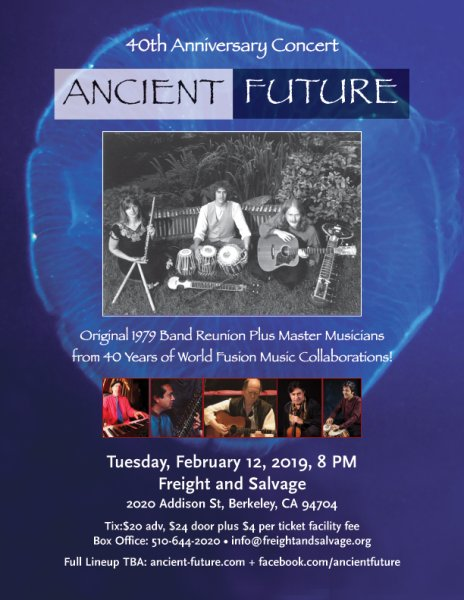 Ancient Future Times: Reunion Celebrating 40 Years of World Fusion