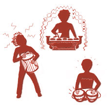 Where\'s the Beat? From Ancient Rhythms to Future Grooves for Gizmos, Gadgets and Thingamajigs