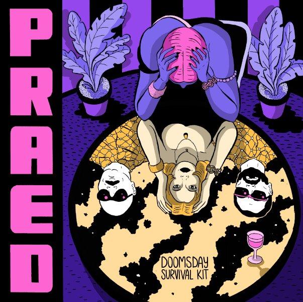 PRAED doomsday survival kit CD/LP