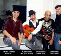 Backstage at Finland Latin Music Festival Show