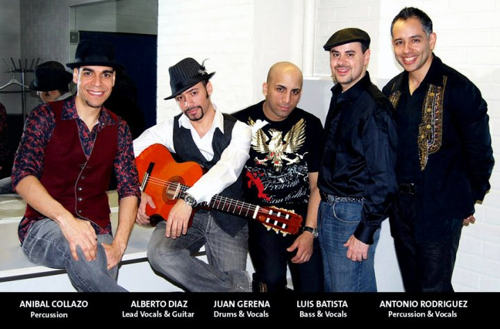 Backstage at Finland Latin Music Festival Show by Soulsa