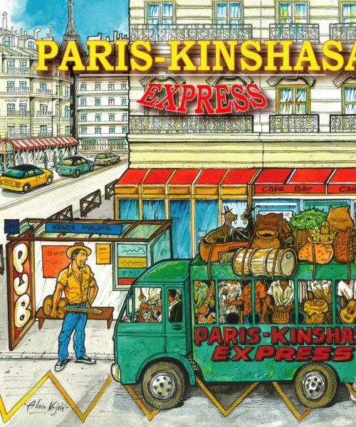 cover presentation by Paris-kinshasa Express