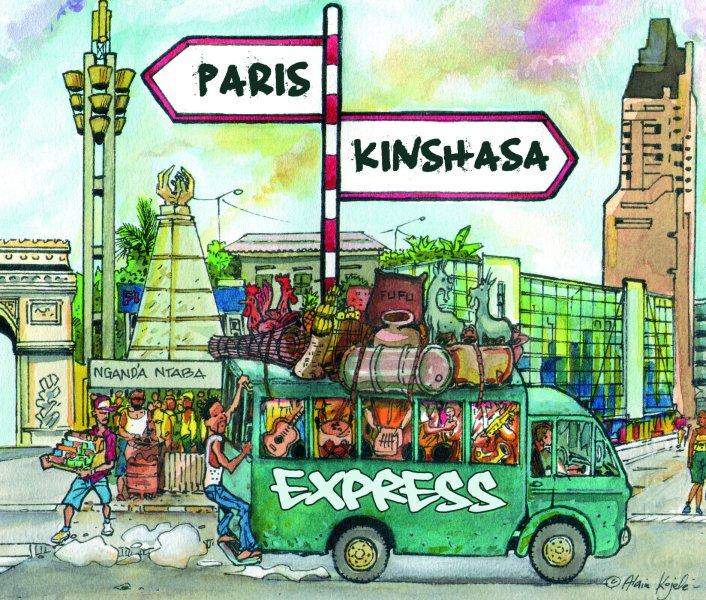 Album Cover Paris Kinshasa Express