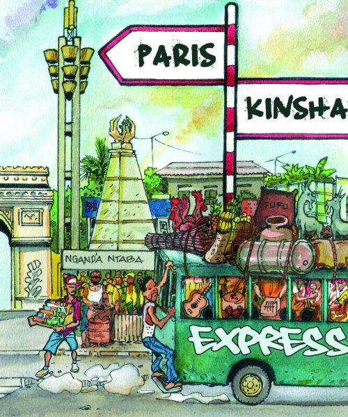 Album Cover Paris Kinshasa Express by Paris-kinshasa Express