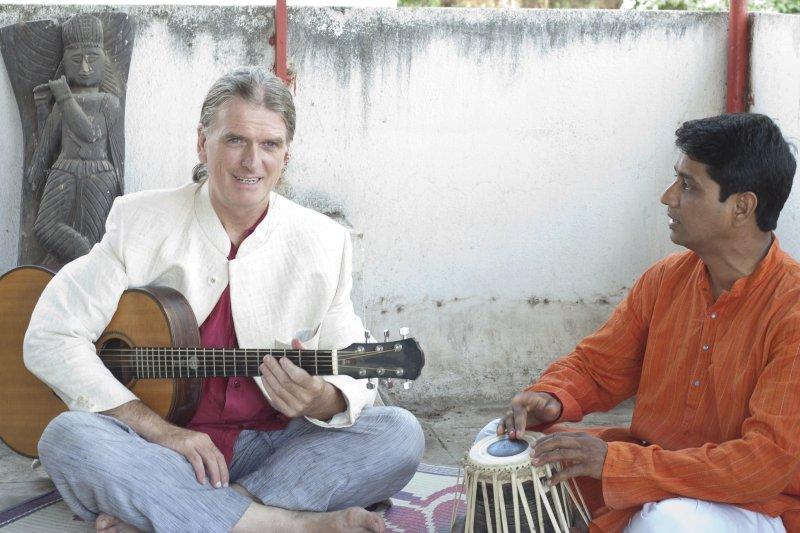 Nitin Gaikwad and Marcus Corbett