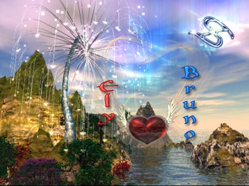 New Cosmic Dreamers RN Heart Icon by COSMIC DREAMERS