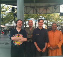 lightsweetcrude at the Toronto Vegetarian Food Festival, Sept. 9th, 2012, Redpath Stage, Harbourfront.