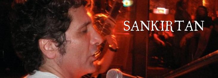 Ricardo playing with SANKIRTAN