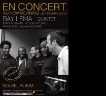 RAY LEMA QUINTET POSTER