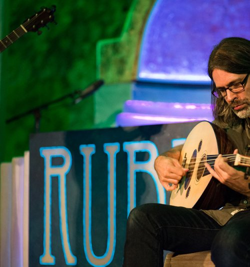 RUBI ATE THE FIG - Adam on Oud by RUBI ATE THE FIG