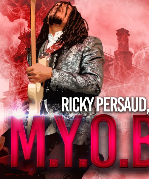 M.Y.O.B. Cover Art by Ricky Persaud, Jr.