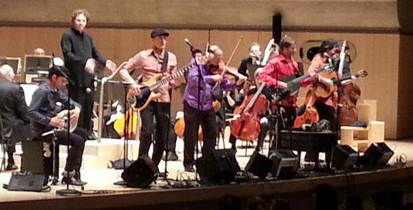 Performing at Roy Thomson Hall April 24, 2013 by Sultans Of String