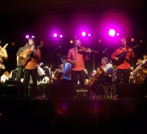 Sultans of String perform with the Windsor Symphony Orchestra