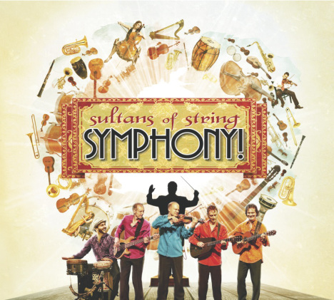 Symphony! Album Cover Art by Sultans Of String