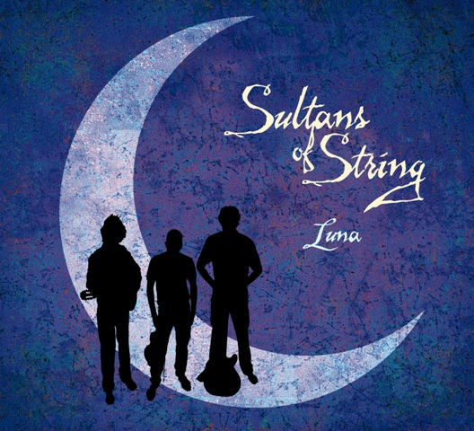 Luna Album Cover Art by Sultans Of String