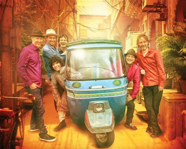 Sultans of String with Anwar Khurshid Autorickshaw