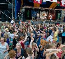 Klapp at Viljandi Pärimusmuusika Festival
