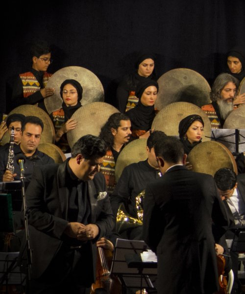 In Concert 5 by Mohammad Reza Namdarpour