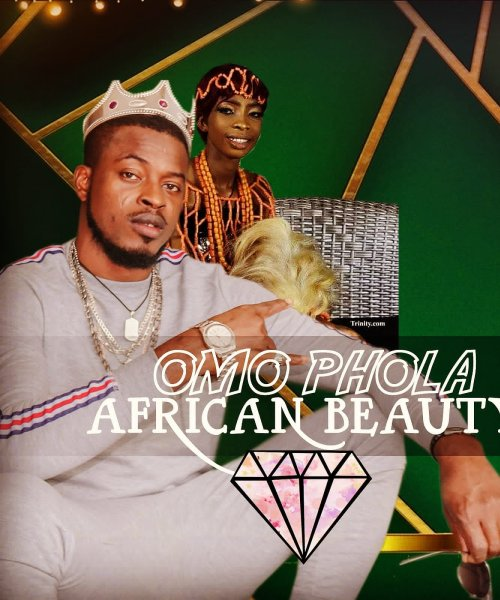 African Beauty  by Omo Phola