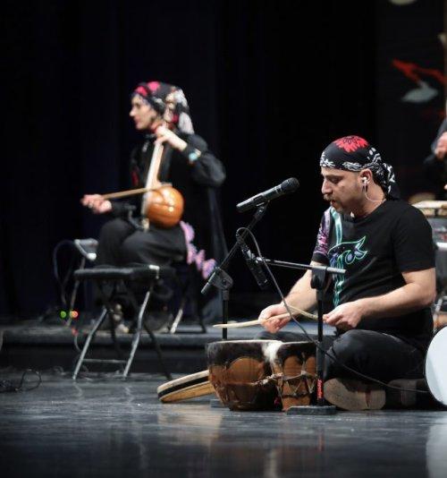 Rastak at 36th Fars Music Festival 2021 by Rastak Music Group