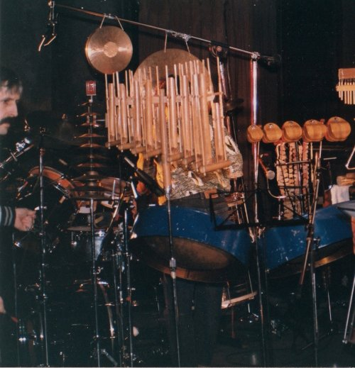 Percussion Set-Up by Kluane Takhini