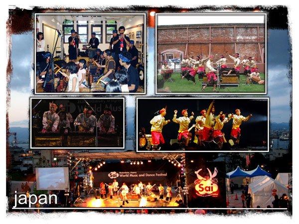 worldmusic and dance festival - japan