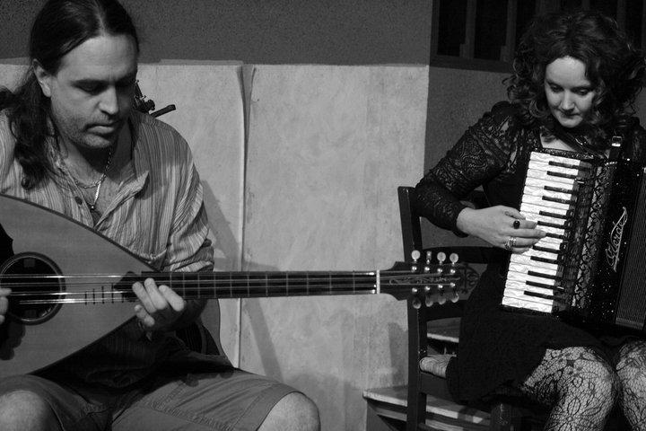 Nikos Brisco & Ruth Margraff by CAFE ANTARSIA ENSEMBLE
