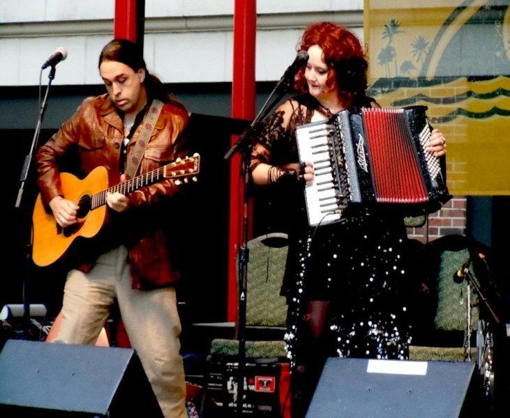 Nikos Brisco and Ruth Margraff by CAFE ANTARSIA ENSEMBLE