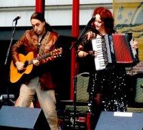 Nikos Brisco and Ruth Margraff