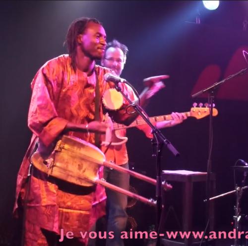 Andra Kouyaté & Magic Foli live @ Festival B-Sides by Andra Kouyaté
