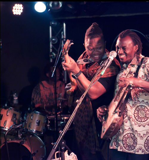 Andra Kouyaté & Magic Foli live @ Chat noir  by Andra Kouyaté