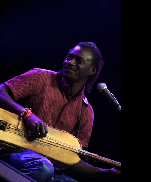 with bass n\'goni by Andra Kouyaté