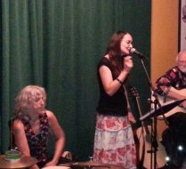 at the Rosendale Cafe CD Release Party on July 13, 2013
