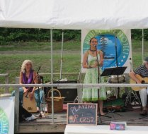 at the Rosendale Street Festival on July 20, 2013