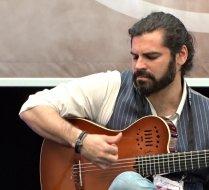 Luis Gallo at Musikmesse in Frankfurt, Germany.