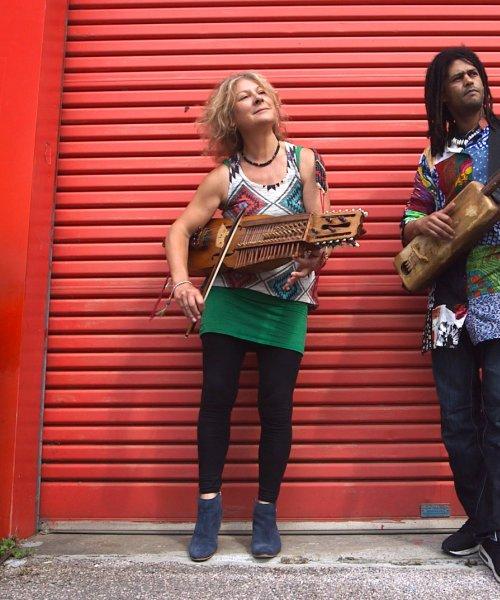 Griselda Sanderson & Simo Lagnawi by Griselda Sanderson