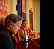 David Hykes in concert, for Tsoknyi Rinopoche and Sangha