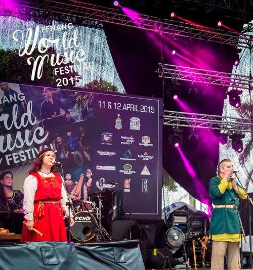 Vedan Kolod at Penang World Music Festival 2015 by VEDAN KOLOD