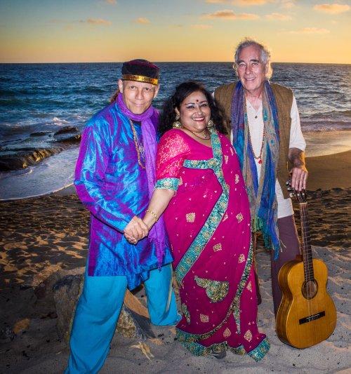 Filming the video for Shakti Sunset - at Laguna Beach by Stevin McNamara