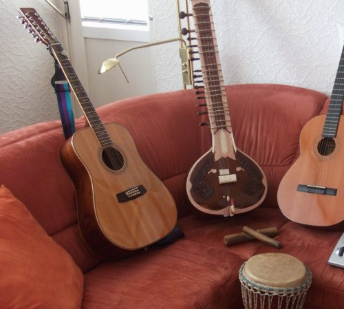 Collection of my instruments by Hjerlmuda